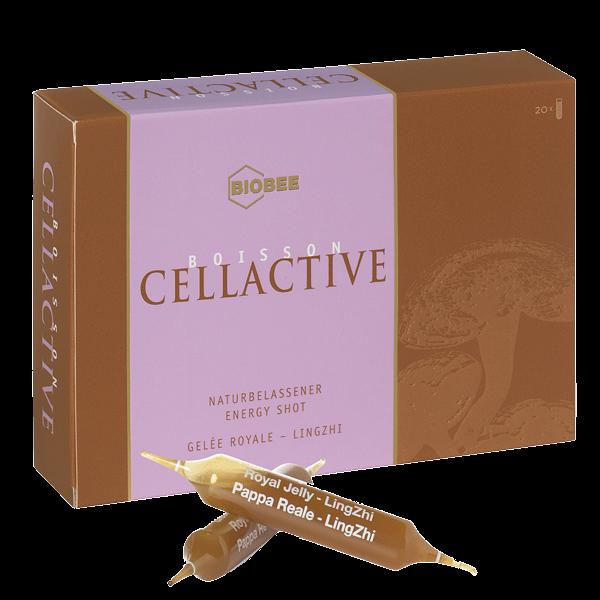 Boisson Cellactive Trinkampullen mit Gelee Royale und Lingzhi