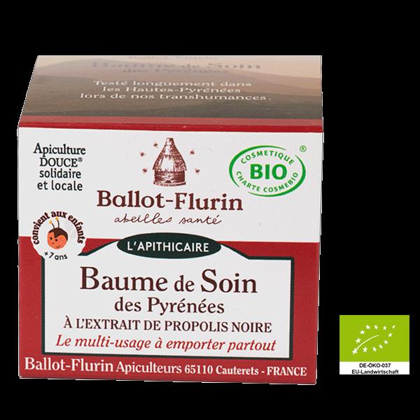 Baume de Soin des Pyrenees, Pflegebalsam von Ballot-Flurin  (FR-BIO-10)