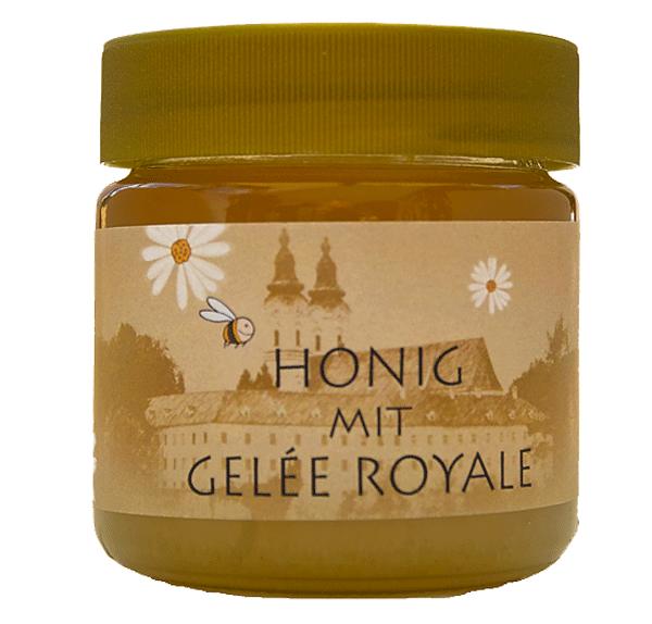frisches gelee royale mit honig apitheke gr ne propolis apilarnil gelee royale. Black Bedroom Furniture Sets. Home Design Ideas