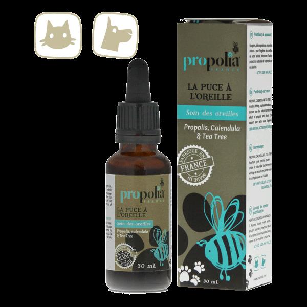 Ohrenpflege für Hunde und Katzen - La Puce à l'Oreille