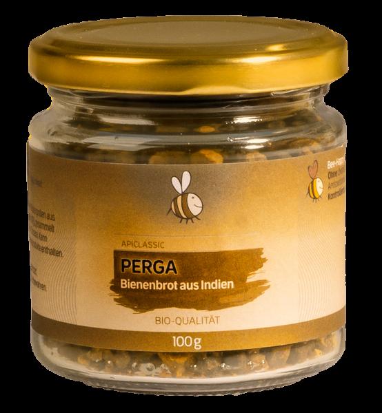 Bienenbrot - Perga (fermentierter Blütenpollen) aus Naturschutzgebiet