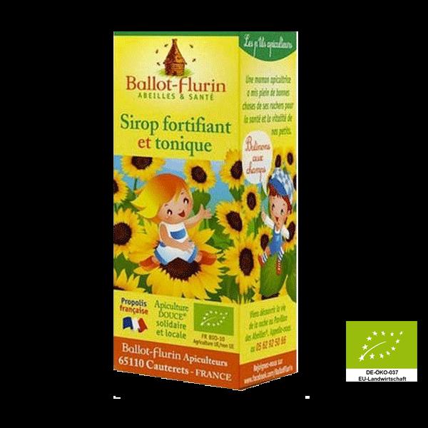 Sirup fortifiant et tonique - stärkender Propolissirup für Kinder  (FR-BIO-10)