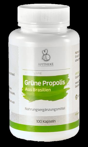Grünes Propolis Kapseln pur ohne Zusatzstoffe
